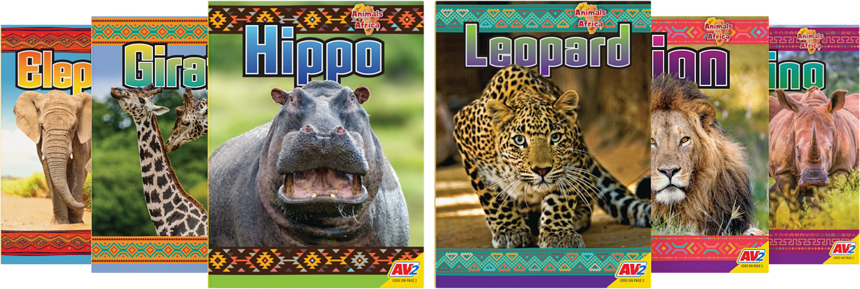 Animals-of-africa-collection