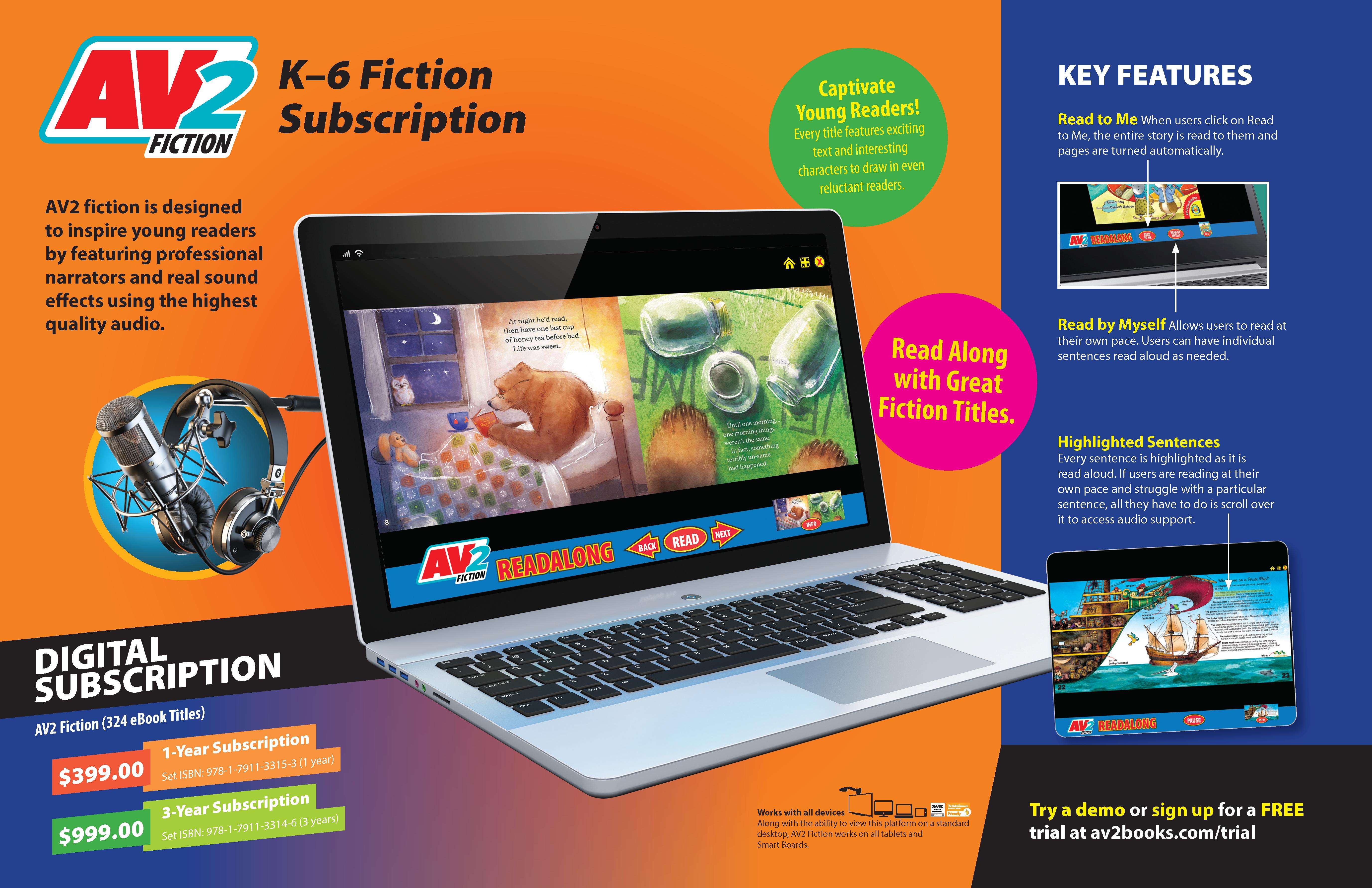 2021 AV2 Fiction Subscription