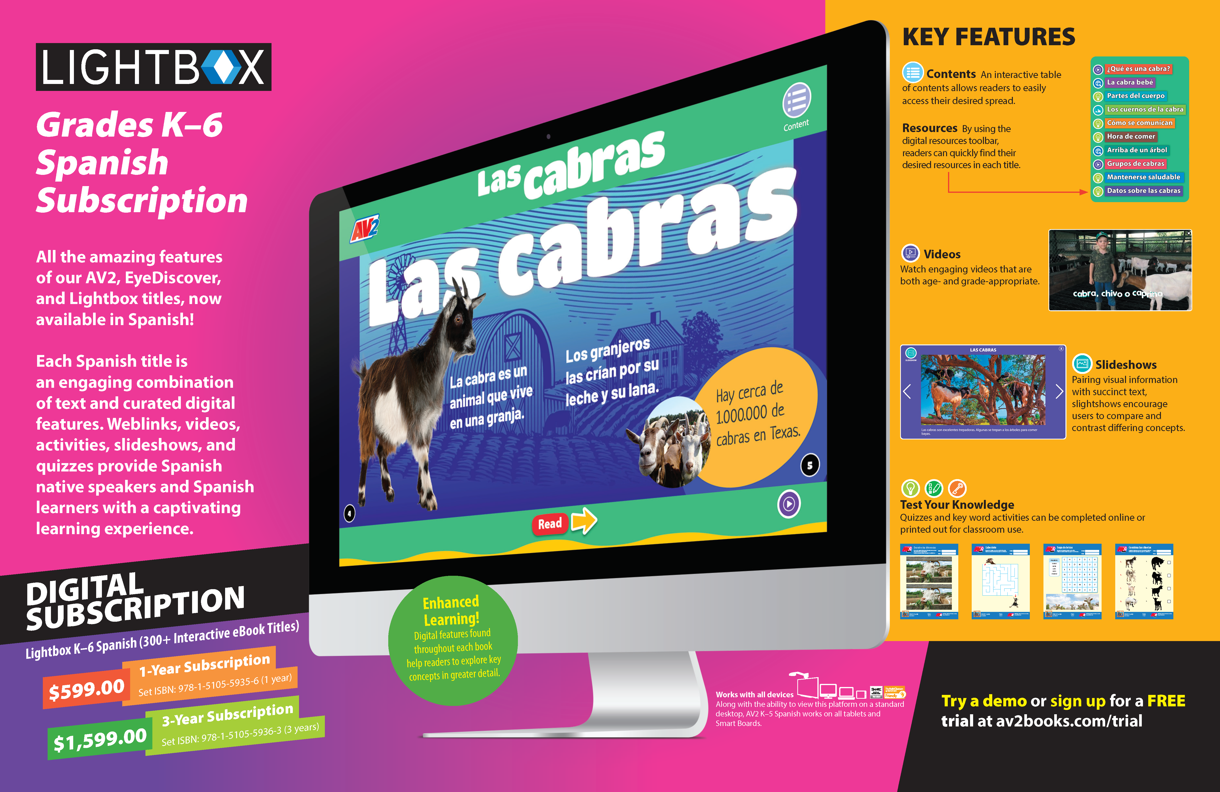 2021 LBX K–6 Spanish Subscription (1)