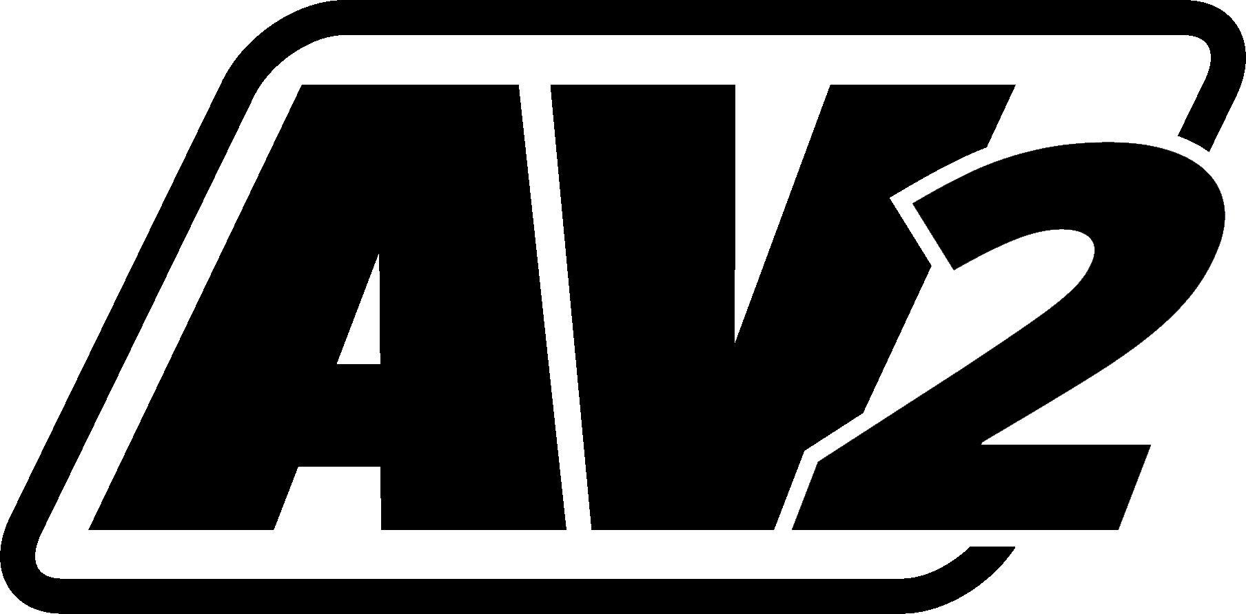 AV2 (2019) black logo