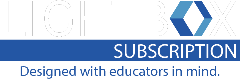 LB-Lightbox Classroom Subscription-white (designed with educators in mind)