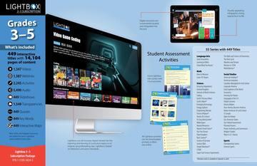 LIGHTBOX Grades 3-5 Annual Subscription