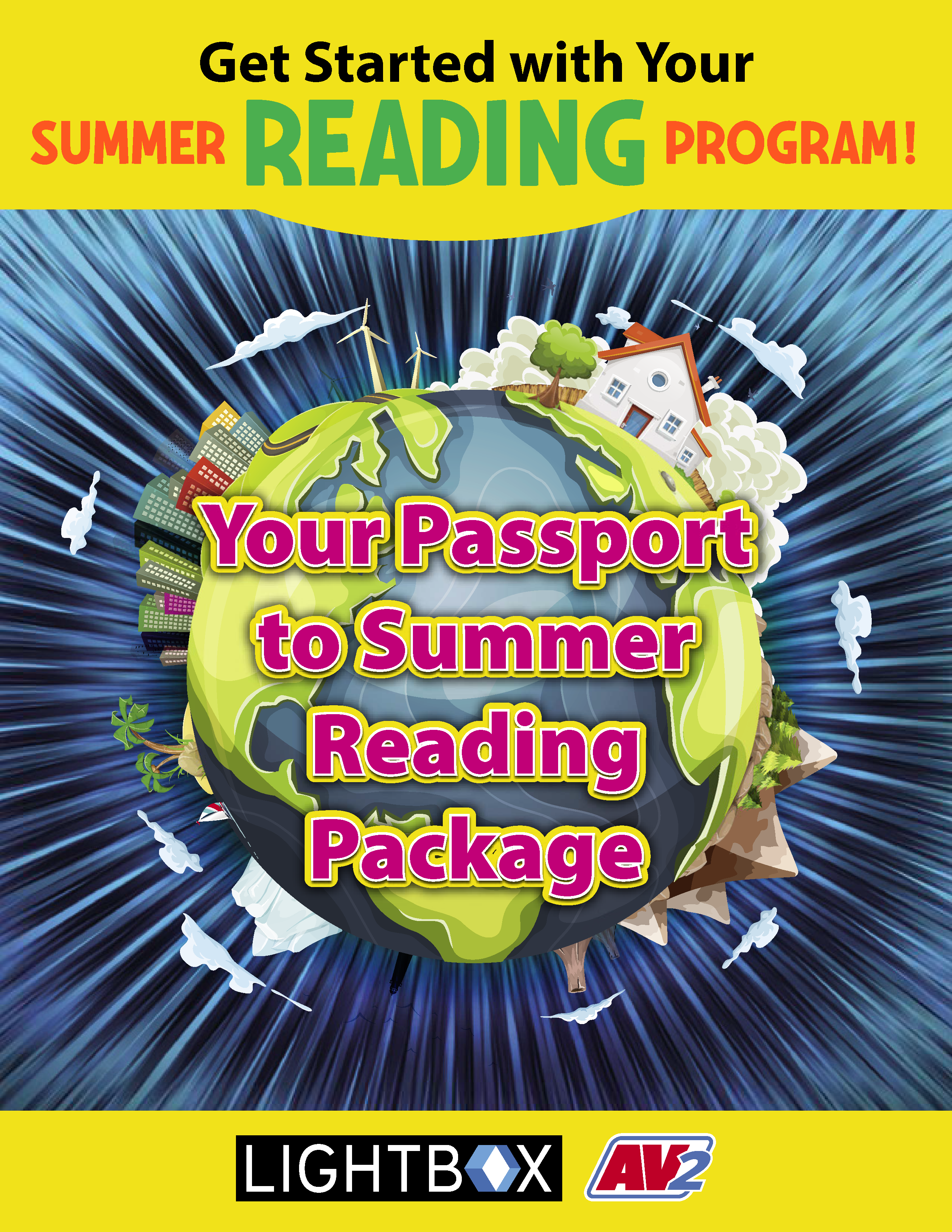 Pages from Summer Reader Kit (parent version)
