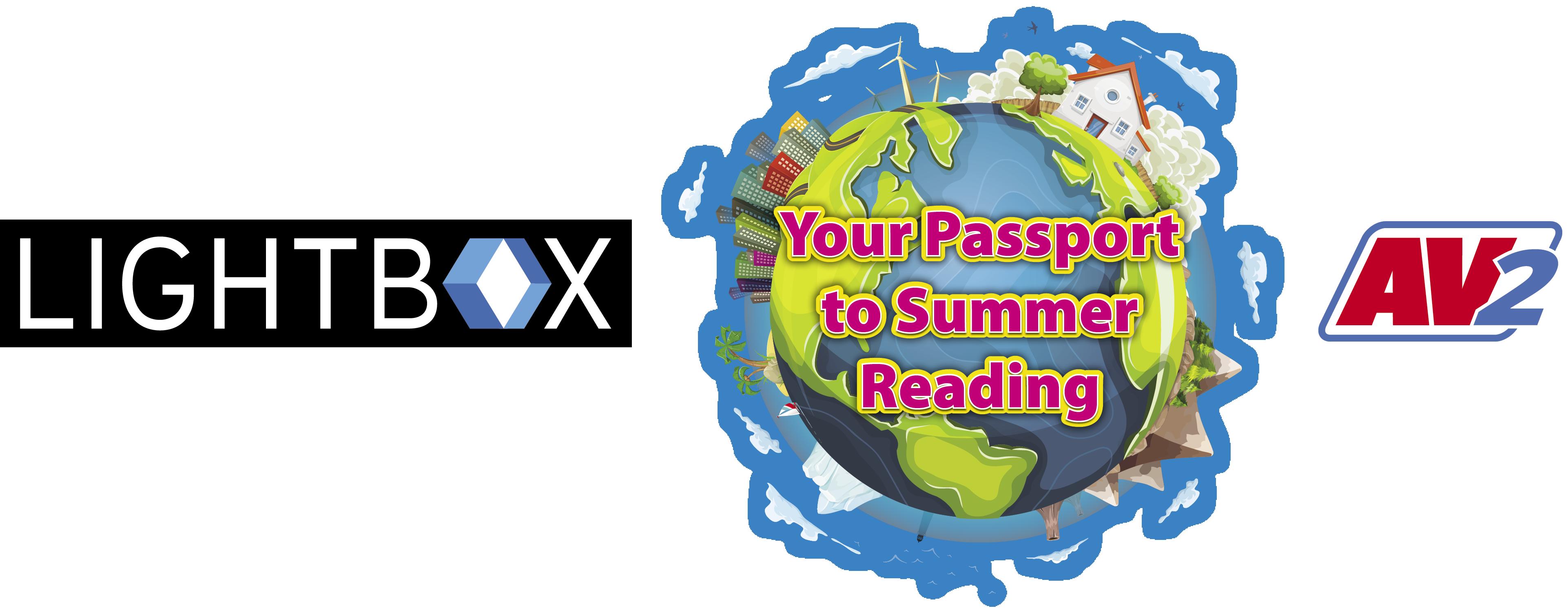 Summer Reader Kit -your passport to summer reading-LBX+AV2